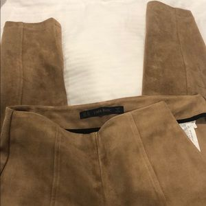 Pants - Zara soft tan pants